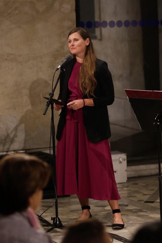 GOSPE IN GOSPODJE - Tina Uršič, igralka (Foto Goran Antlej)