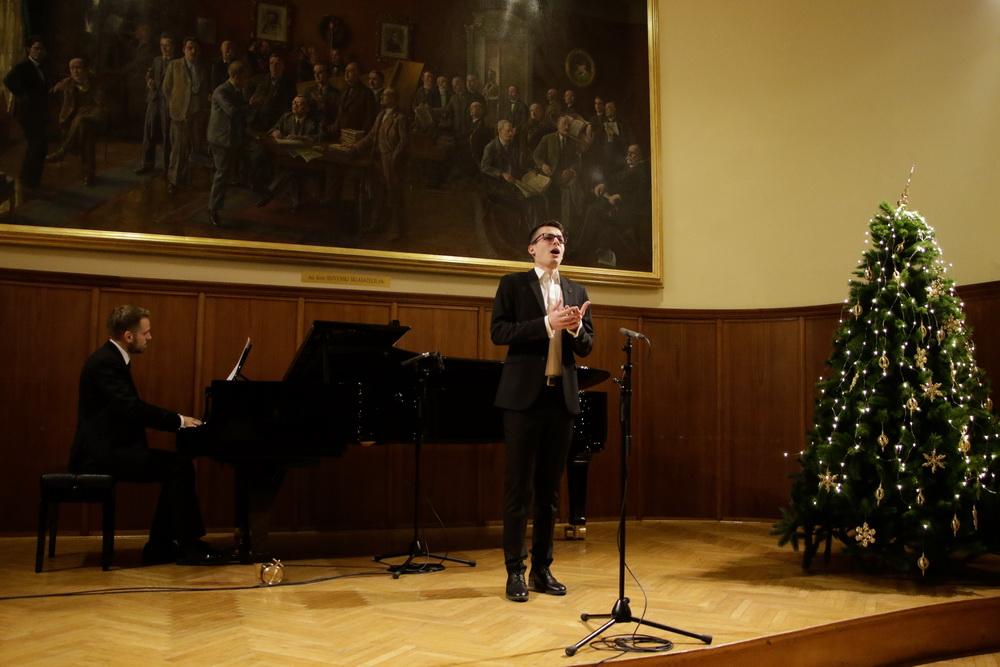 Marko Erzar, bariton, Ivan Pernicki, klavir, Foto: Goran Antlej