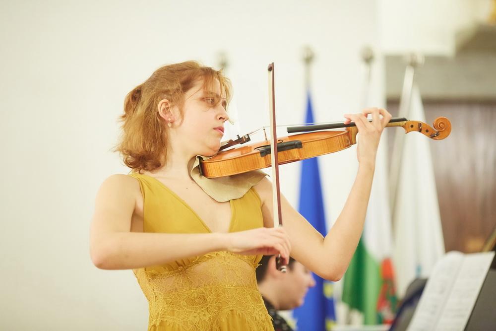 Kaja Sešek, violina, Foto: Janez Kotar