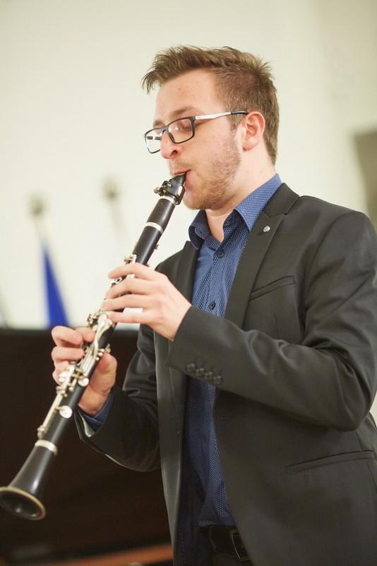 Jan Ulaga, klarinet, Foto: Janez Kotar