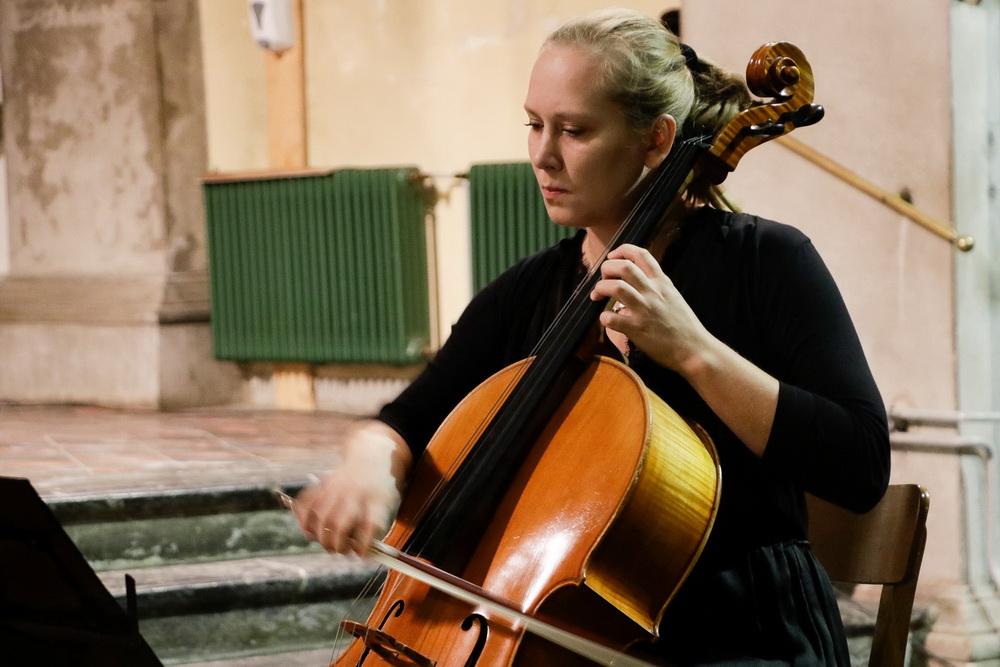 PROSTRANOST, 15.9.2020 - Kvartet violončel, Katarina Kozjek (Foto: Goran Antlej)